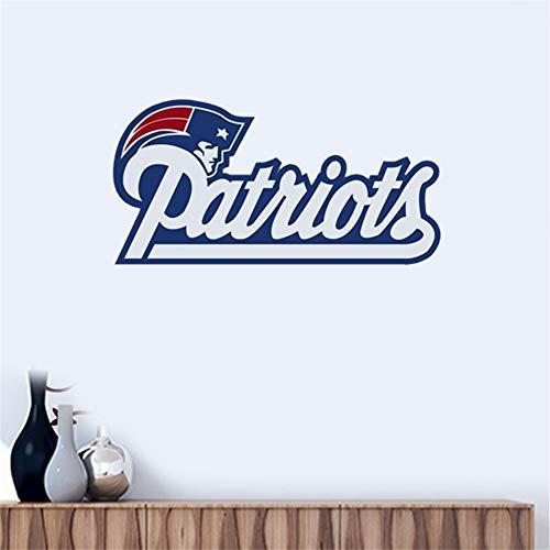 Wandtattoo New England Patriots # 3 Team Logo Wandaufkleber Vinyl Wandaufklebe