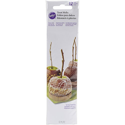 Wilton 2113-0259 Caramel Apple Branch Sticks, Assorted