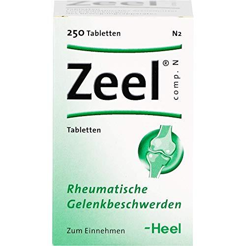 Zeel comp. N Tabletten bei rheumatischen Gelenkbeschwerden, 250 St. Tabletten
