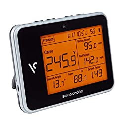 VOICE CADDIE SC300 Swing Caddie Portable Launch Monitor » Carry/Total Distance » Smash Factor » Launch Angle » Swing Speed » Apex (Max Height) » Ball Speed