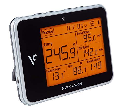Voice Caddie Swing Caddie SC300, Monitor di Lancio Protable Unisex-Adulto, Nero, Taglia Unica