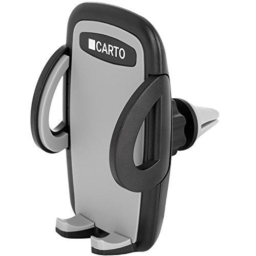 CARTO Auto Handyhalterung 360 Grad drehbar kompatibel für iPhone, Samsung, Huawei, LG & weitere Smartphones   Lüftungsschlitz-Handyhalter, Universal-Handyhalterung, Phone Halter