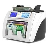 Detectalia S400 - Contador de billetes con función de valor y detección 100% fiable eb test...