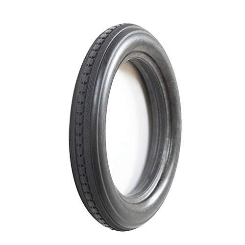 SUIBIAN Fahrradreifen, 12 1 / 2x2 1/4 Solideer Reifen mit Notlaufeigenschaften, verschleißfest und schlagsicherer, 12-Zoll-Fahrrad-Anti-Rutsch-Reifen Zubehör