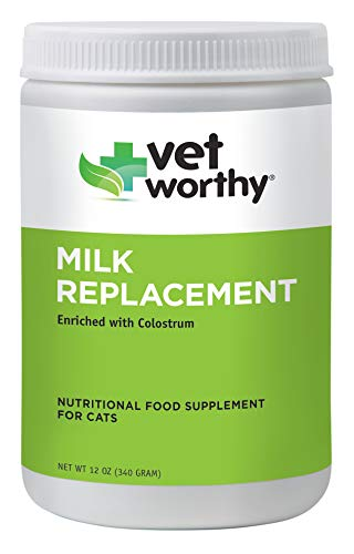 Vet Worthy Milk Replacement for Cats (12 oz Powder)
