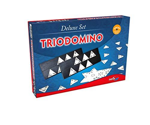 Noris 606104603 606104603-Trio Domino, Deluxe Set