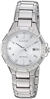 Citizen Women's Eco-Drive Riva Stainless Steel Watch