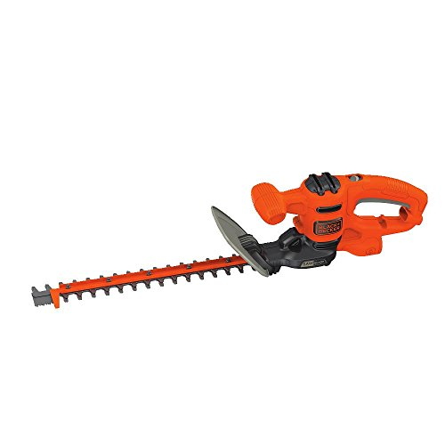 BLACK+DECKER Hedge Trimmer, Dual-Action Blade, 16-Inch (BEHTS125)
