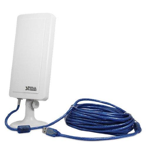 zoom informatica Signal King SK 11TN Antena WiFi USB Largo Alcance 5 Metros Pequeno Tamano Transportar Rompe muros. Facil de Instalar Interior