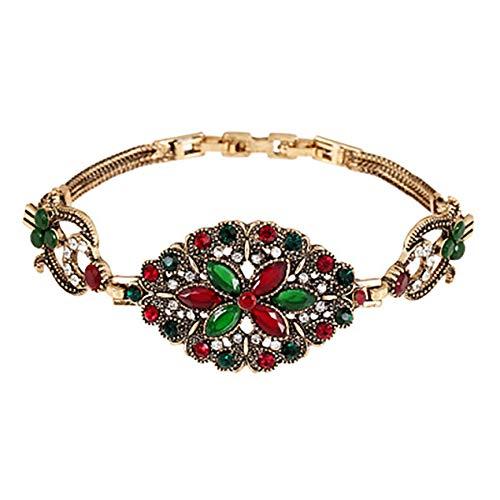 DBSUFV Pulsera de personalidad bohemia de la vendimia de la joyería simple moldeada original antigua