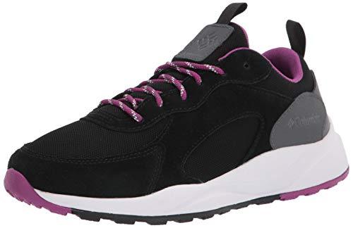 Columbia Women's Pivot WP Hiking Shoe, Black/Berry jam, 10.5