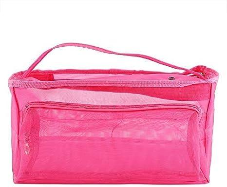 knitting bag filato Storage//portatile Tote uncinetto 3 fori sottovuoto per proteggere filato evitare grovigli Purple