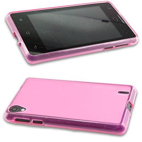 caseroxx TPU-Hülle für Medion Life E4005, Tasche (TPU-Hülle in pink)