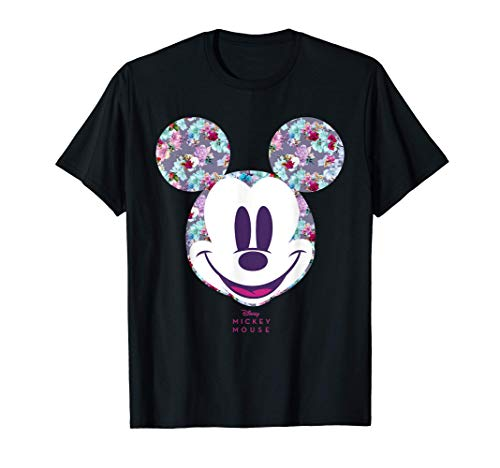 Disney Year of the Mouse Floral Mickey April Maglietta