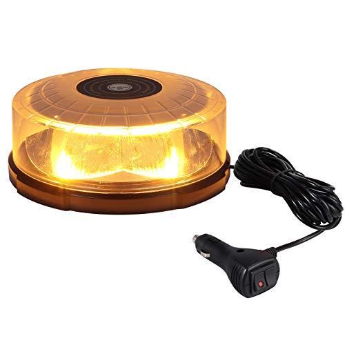 profesional ranking Luz giratoria LED de 60W, luz de emergencia, baliza estroboscópica, 27 modos… elección