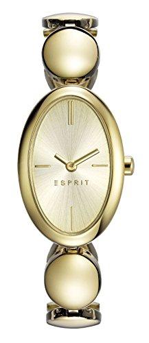 Esprit Damen-Armbanduhr ES-ALLIE GOLD Analog Quarz Edelstahl ES108592002