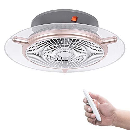 Deckenventilator mit Beleuchtung und Fernbedienung, Ventilator mit Licht 48W, Einstellbare Windgeschwindigkeit, Dimmbar Wohnzimmerlampe für Schlafzimmer,Wohnzimmer