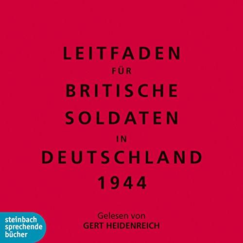 Leitfaden für britische Soldaten in Deutschland 1944 Titelbild