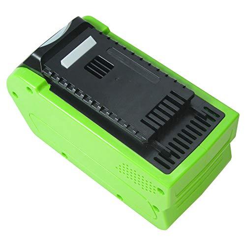 Trade Boutique Premium Batterie Li-Ion, 40 V/4000 mAh/160 WH pour Greenworks G de Max Taille-haie 22637t 22147t, tronçonneuse 20117 20077, Ebrancheur 20157, Cultivateur 27087, compresseur 4100102 remplace 29472 29282 2601102 20302 2601402 29727