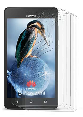 5X Huawei G Play Mini | Schutzfolie Matt Bildschirm Schutz [Anti-Reflex] Screen Protector Fingerprint Handy-Folie Matte Bildschirmschutz-Folie für Huawei G Play Mini/Honor 4c Bildschirmfolie