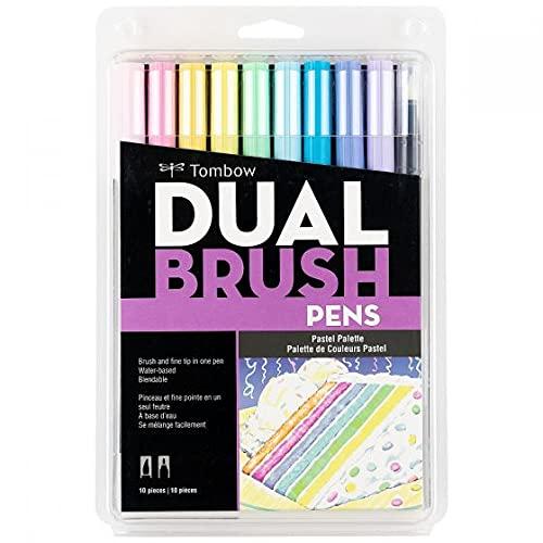 Caneta Tombow Dual Brush Pen - Pastel