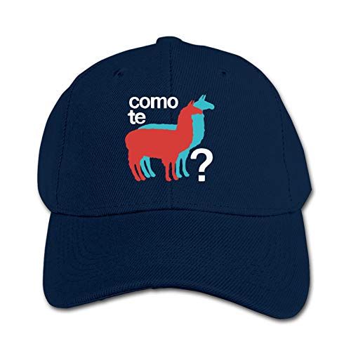 Como Te Llamas Unisex Sports Cap Teen Hut Sunproof Kids Cap Hip-Hop Cap Verstellbare Baseball Cap Sun Hat für Kinder