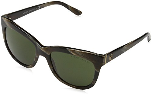 Ralph Lauren 0Rl8158, Gafas de Sol para Mujer, Marrón (Brown Horn), 54