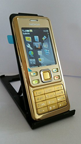 Nokia 6300 matt gold (EDGE, Bluetooth, Kamera mit 2 MP, Musik-Player, Stereo-UKW-Radio, Organizer) Handy
