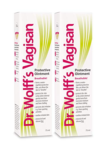 Dr. Wolff`s Vagisan Protective Ointment, 2x75ml- The Anti-Chafing Cream for The genital Area