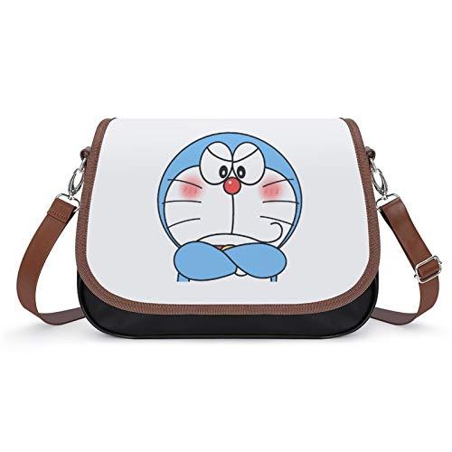 Doraemon - Bolso de mano para mujer, estilo vintage, bolso de hombro retro