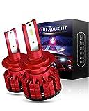 Wayrank H7 LED Ampoule 10800LM Phares pour Voiture 60W 12V 6000K blanc, 2 pièces