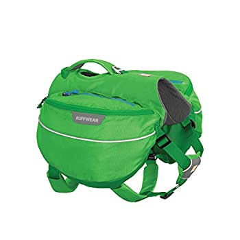 RUFFWEAR Approach Dog Pack Backpack for Hiking and Camping Meadow Green Medium