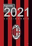 Agenda settimanale A4 Milan: formato settimanale 21x30 cm