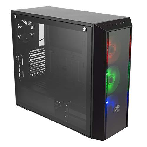 Cooler Master MasterBox Pro 5 RGB Case per PC 'E-ATX, ATX, micro-ATX, mini-ITX, LED RGB, Pannello Laterale in Vetro Temperato' MCY-B5P2-KWGN-01