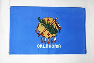 Oklahoma Flag 2' x 3' - US State of Oklahoma Flags 60 x 90 cm - Banner 2x3 ft - AZ FLAG