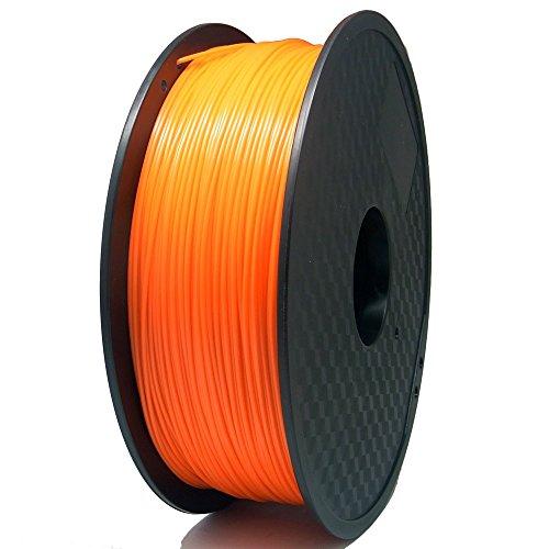 S SIENOC 3D Drucker PLA Filament 1,75mm 3D Drucker Filament Orange 1KG ( PLA Orange )
