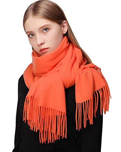 RIIQIICHY Bufanda de cachemira para mujer Pashmina Bufandas y abrigos Bufandas cálidas de invierno para mujer