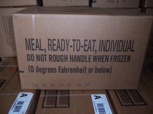 Military Type MRE MEALS READY TO EAT by USAA