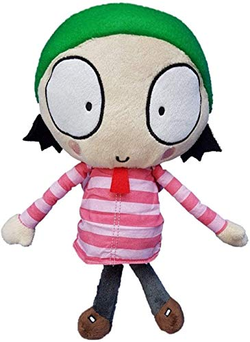 NC56 Animation Plush Toy Sarah and Duck Character Stuffed Plush Doll 25Cm Toy Entertainment Decoration Gifts Toy
