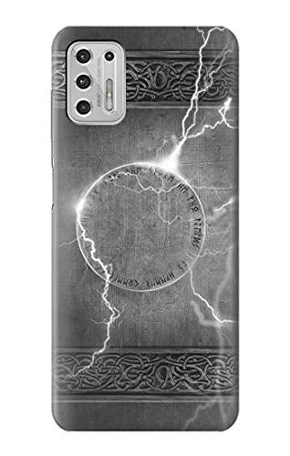 Innovedesire Thor Th&er Strike Hammer Hülle Schutzhülle Taschen für Motorola Moto G Stylus (2021)