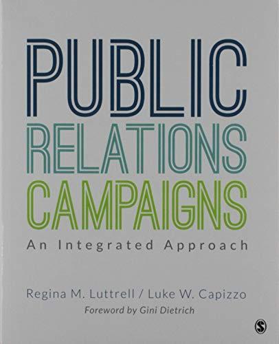 BUNDLE: Luttrell: Public Relations Campaigns + Luttrell: The PR Agency Handbook -  Luttrell, Regina M., Paperback
