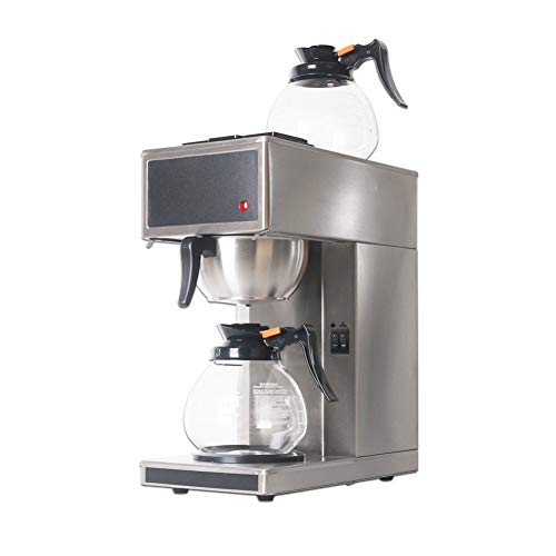 CTDMMJ Cafeteras de destilación de Acero Inoxidable Completo Máquina de café de Filtro Cafetera Comercial con