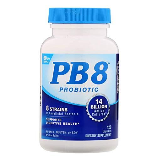 Probiotico PB8 120Cápsulas Nutrition Now O MAIS FAMOSO