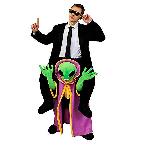 0207VP79KZM ILOVEFANCYDRESS Alien futuriste Déguisement