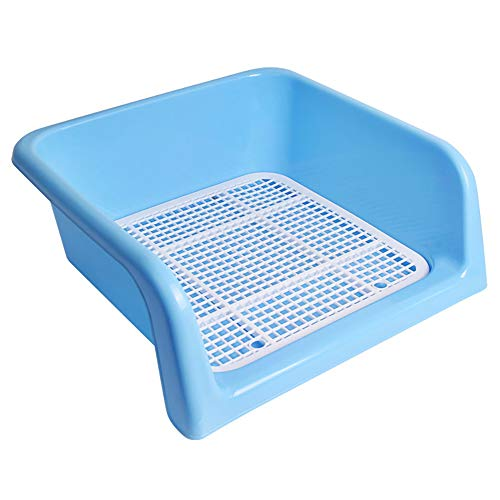Dog Toilet,Indoor Dog Potty Tray – with Protection Wall Every Side for No Leak, Spill, Accident - Keep Floors Clean