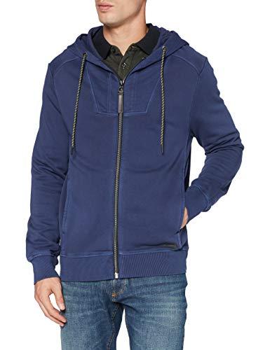 camel active Herren 4093124F0743 Sweatshirt, Indigo, M