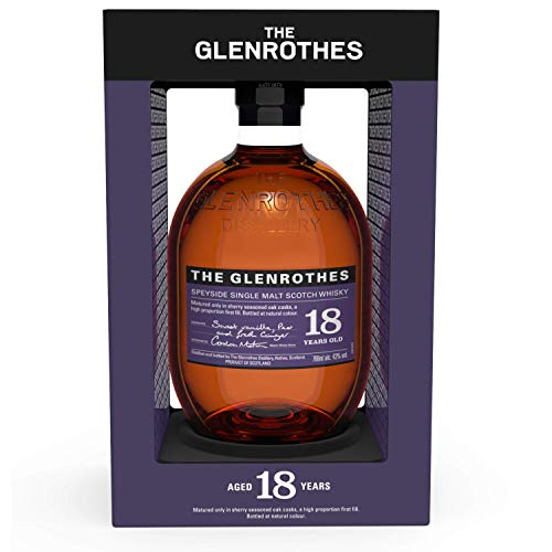 The Glenrothes 18 Años Single Malt Whisky Escocés, 43% - 700 ml