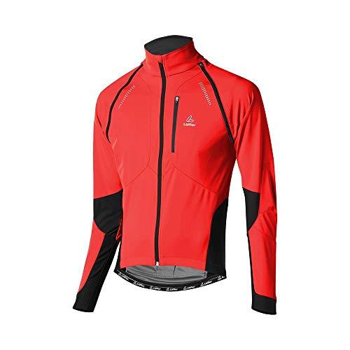 Löffler 15922 Veste de cyclisme zippée San Remo WS Softshell Light pour homme
