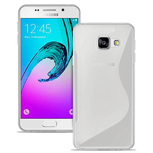 Estuche Ultra Delgado para Samsung Galaxy A3 (2016) A310 El | En Blanco