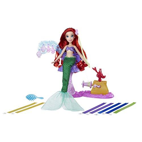 Hasbro Disney Prinzessin B6836ES0 - Arielles fantastischer Frisier-Spaß, Puppe